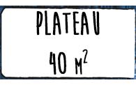 Plateau 40m2